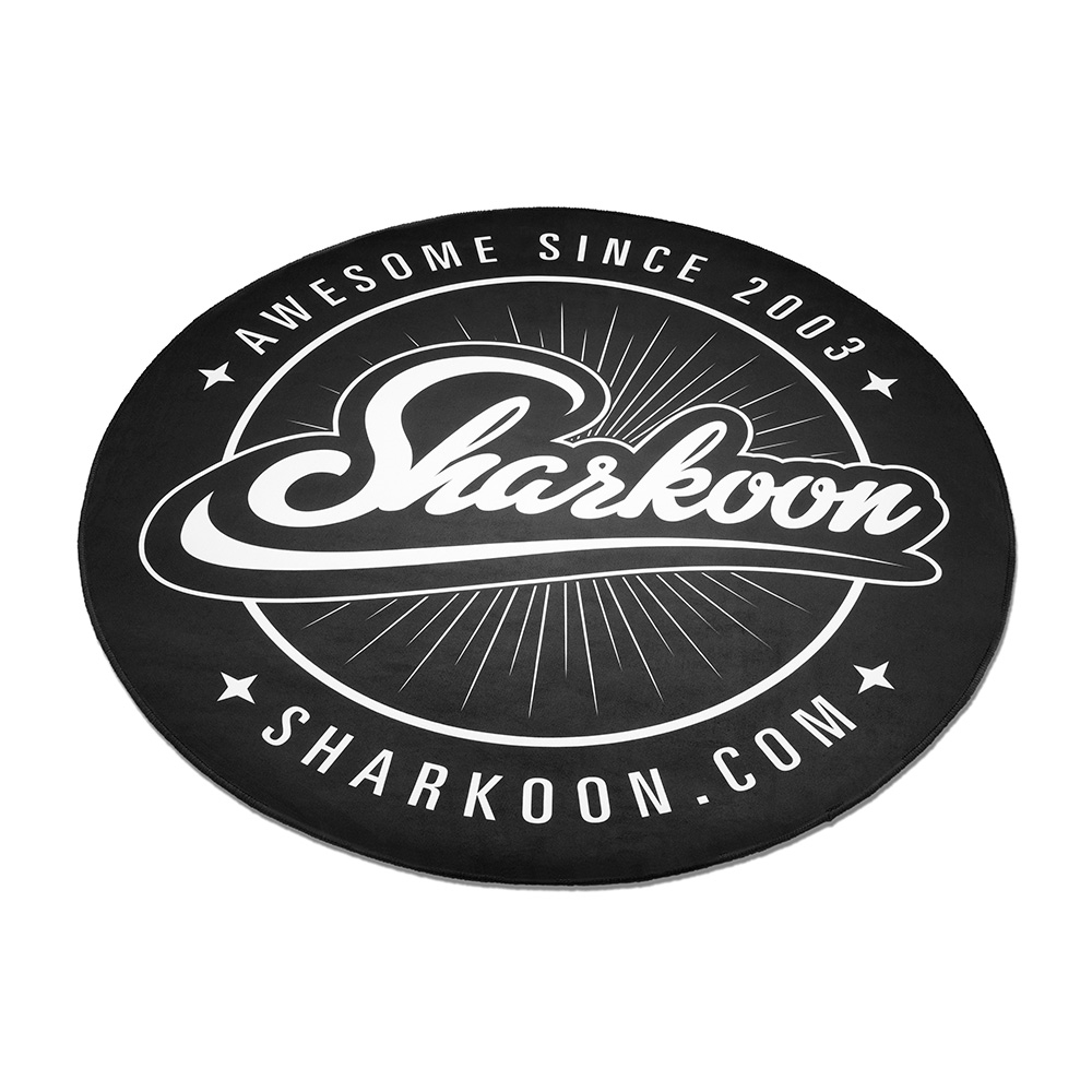 Sharkoon Floor Mat, Round Gaming Chair Mat