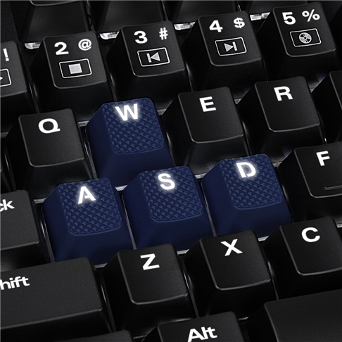 Mechanical Rubber Keyset (13)